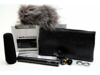 Audio Technica AT875R Line + Gradient Condenser Microphone + Furry windsock As new, unused