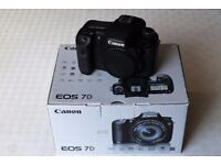 Canon EOS 7D Camera Body - very low shutter count