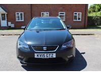 SEAT Leon 1.6 TDI SE (Tech Pack) ST DSG 5dr (start/stop) estate, £20 road tax annually