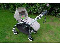 Bugaboo Bee Plus inc cocoon and footmuff - great condition