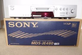Sony Mini Disc Player / Recorder MDS-JE480