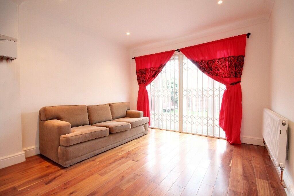 Modern refurbished two bedroom ground floor garden flat in Willesden