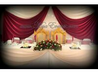Nigerian Wedding Catering £14pp Wedding Decoration Package £4pp Plate Hire Cutlery 19p Throne Hire✿✿