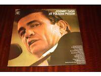 Johnny Cash At Folsom Prison Vinyl LP Record