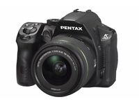 Pentax K-30 DSLR Camera with 18-55mm WR Lens Kit (£ negotiable)