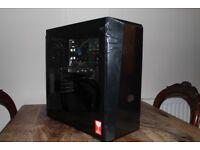 gtx 1050ti gaming pc - all new parts - homebuilt