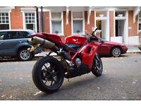 Ducati 848 Red 2008