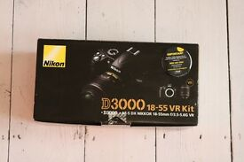 NIKON D3000 DSLR DIGITAL CAMERA