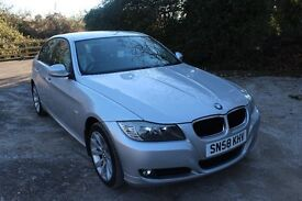 FROM £40 PER WEEK 2008 BMW 320D SE SALOON 2.0 DIESEL AUTOMATIC SILVER ECONOMICAL SUPERB CONDITION