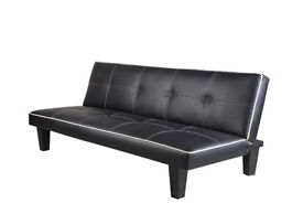 Black Sofa Bed * NEW *
