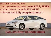 FROM £185 / WEEK-PCO CAR HIRE/RENT,UBER READY, IN NORTHWOOD,WATFORD,PINNER,KENTON,STANMORE-LONDON