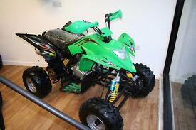 New 200cc kandi quad with clutch and gears