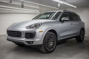 2018 Porsche Cayenne Platinum Edition Panoramique