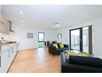 Stylish and Spacious 1 Bed Apartment moments to Canary Wharf, Private Terrace, Amazing Views- VZ