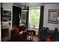 2 bed flat with no lounge in SE1 Zone 1 available furnished in September.