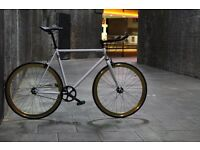Christmas sale!!! Steel Frame Single speed road bike track bike fixed gear racing fixie bicycle ff