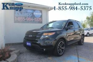 2015 Ford Explorer Sport Sport AWD-Dual Panel Roof-Navigation-Le