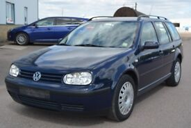 LEFT HAND DRIVE VOLKSWAGEN GOLF ESTATE ,DRIVES PERFECTLY,ENGINE & MECHANICS,PAPER SORTED.CALL MARC