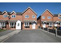 Superb modern 3 bed house to let Nice are of Swinton. £775. Pcm. Available ist week Sep.