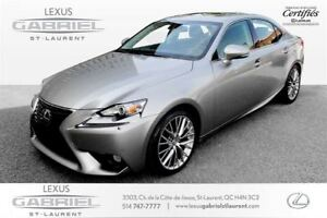 2014 Lexus IS Luxury Package NAVIGATION + CAMERA + SUNROOF + LEA