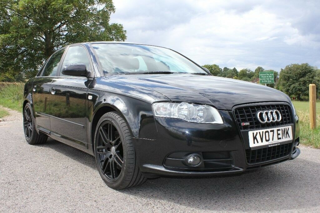 Audi a4 b7 2 0 tfsi 220bhp quattro black edition in for Mueble 2 din audi a4 b7