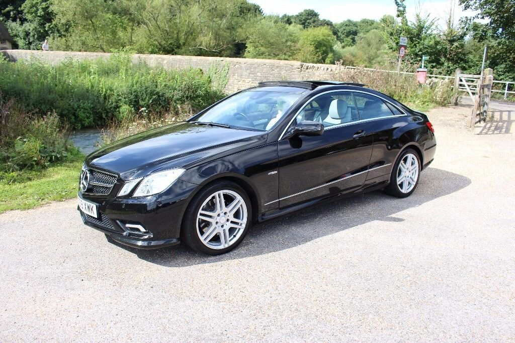 Mercedes E350 Coupe AMG, only 53,000 miles! Open to offers