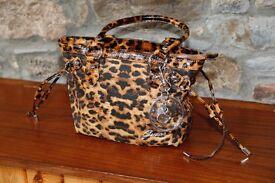 Guess Animal Print Handbag - New with tags