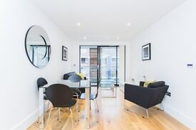 BRAND NEW LUXURY ONE BEDROOM APARTMENT IN BOW / WHITECHAPEL E3 AVAILABLE NOW! BALCONY & FURNISHED