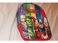 Kids Avengers hologram backpack