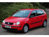 Volkswagen polo 1.2 s five door fvwsh 1 owner exceptional condition