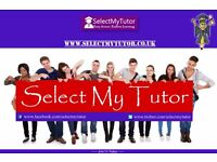 10000+ Home Tutors for GCSE & A-Level English/Maths/Physics/Biology/Chemistry/Spanish/French/Music