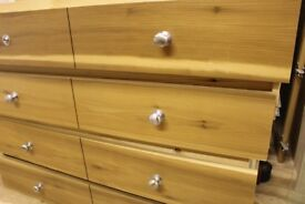 Real wood drawers