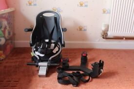 Revelo Buggypod Perle Clip on Booster Seat with Board Adapter for Lascal & Bugaboo Wheeled Boards