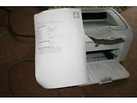 HP laserjet P1005 with cartridge,quality black printing,HP Printer, Laser printer, A4,