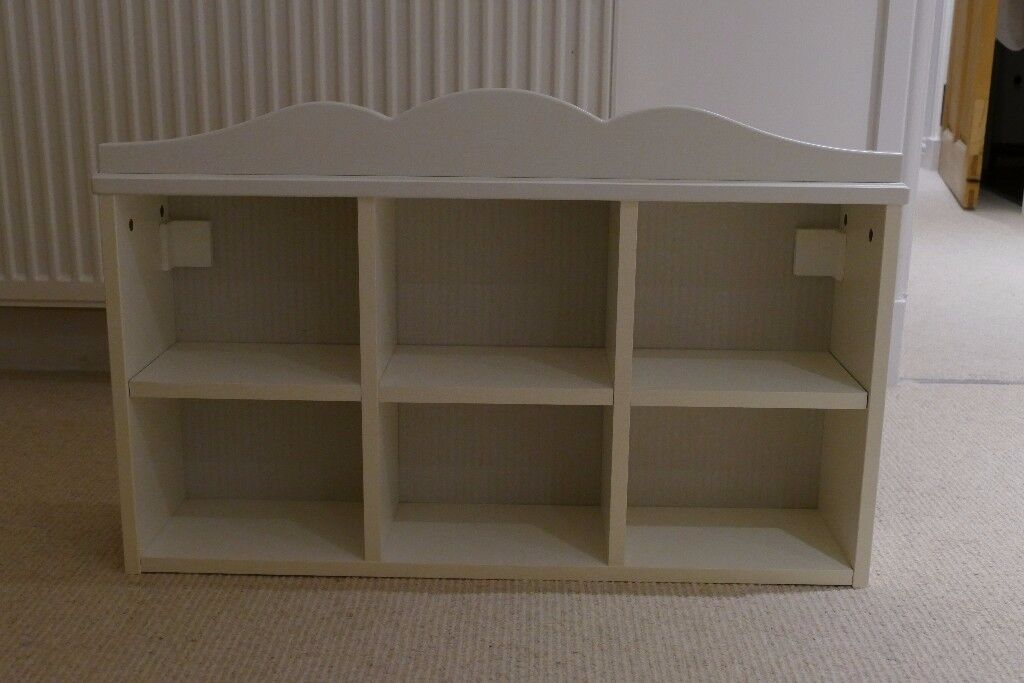 Wall mounting small white Ikea HENSVIK storage units (fixings not included)