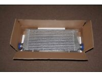 Brand new alloy universal intercooler 450x227x65 (never been used) still in box