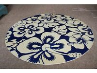 """30"""" Flowery Top Skim Board Round Wooden or Coffee Table Top"""