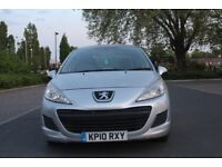 PEUGEOT 207 YEAR 2010 1.4CC AFFORDABLE ON PETROL VERY ECONOMICAL. G CONDITION INSIDE AND OUT