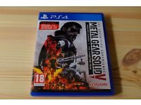 Metal Gear Solid 5 The Definitive Experience Ground Zeroes and The Phantom Pain PS4 Like New