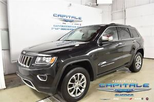 2016 Jeep Grand Cherokee LIMITED*4X4*TOIT OUVRANT*CAMERA DE RECU