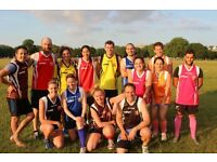 Social Aussie Rules Footy on Clapham Common!