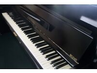 John Russell Black Upright Piano | Belfast