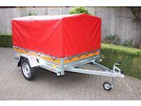 NEW Tema Car Trailer Full PVC Cover and Frame - 750kg GVW