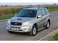 TOYOTA RAV4 XT3 D-4D 2.0 DIESEL 102K MILES! 15 STAMPS! NEW CLUTCH! CAMBELT WATER PUMP DONE!
