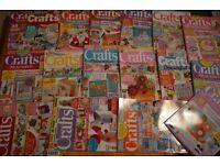 CRAFT CARD PATCHWORK DOCRAFTS CREATIVITY MAGAZINES