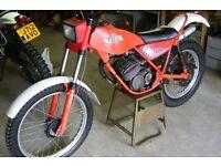 1980 Fantic 50cc twin shock classic trials bike
