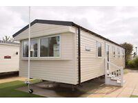 * New *2017 Double glazed-central heated model for sale, static caravan,Haggerston Castle