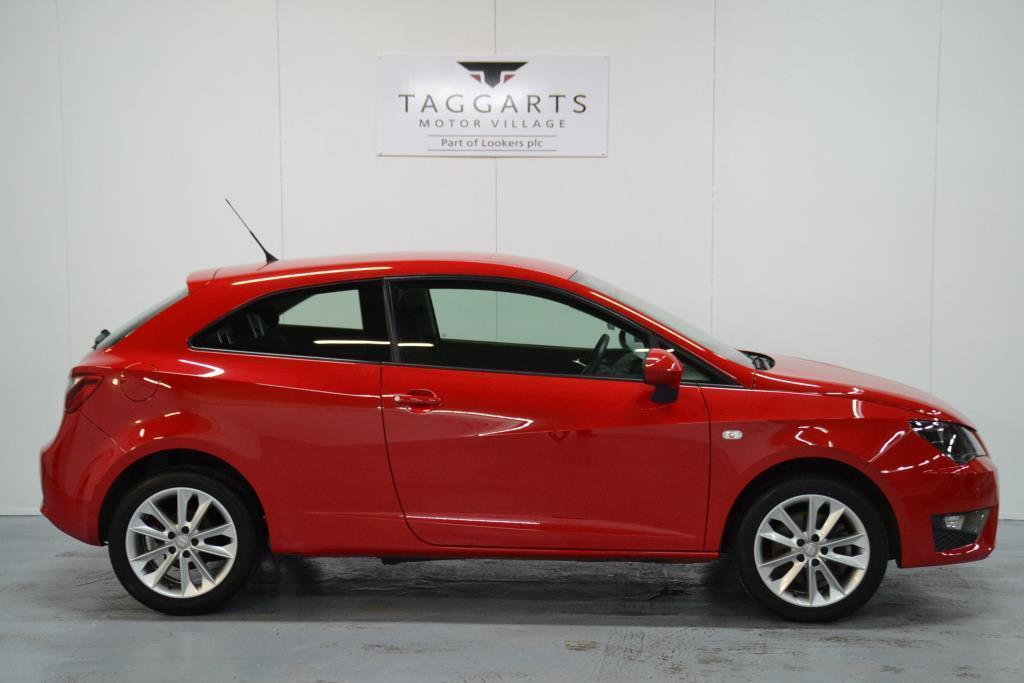 seat ibiza 1 6 tdi cr fr 3dr red 2012 08 15 in motherwell north lanarkshire gumtree. Black Bedroom Furniture Sets. Home Design Ideas