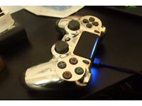 Custom-Chrome PS4 Controller