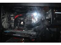 Custom Built Gaming PC | Intel Core I7 4790k | 500GB SSD | 3TB HDD| Windows 10 | AMD RADEON 7950